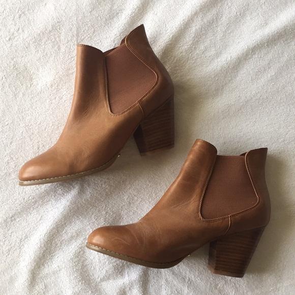 midas Shoes | Midas Tan Ankle Booties